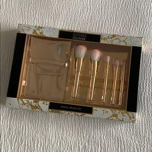 Other - Gold Travel Brush Kit